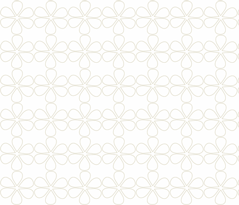 Natural Petals ii fabric by designedtoat on Spoonflower - custom fabric