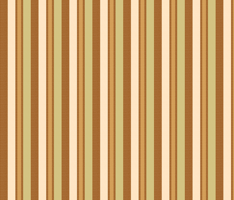 brown stripes 7 fabric by mojiarts on Spoonflower - custom fabric