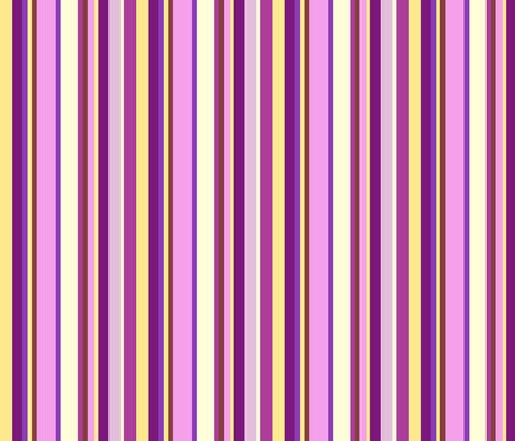 Multicolor purple stripes fabric by mojiarts on Spoonflower - custom fabric