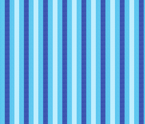blue world stripes fabric by mojiarts on Spoonflower - custom fabric