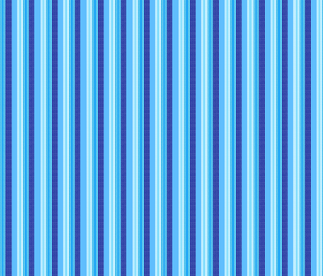blue world stripes 5 fabric by mojiarts on Spoonflower - custom fabric