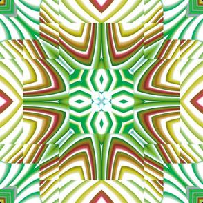 Flowery Incan Tiles 26