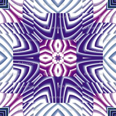 Flowery Incan Tiles 29