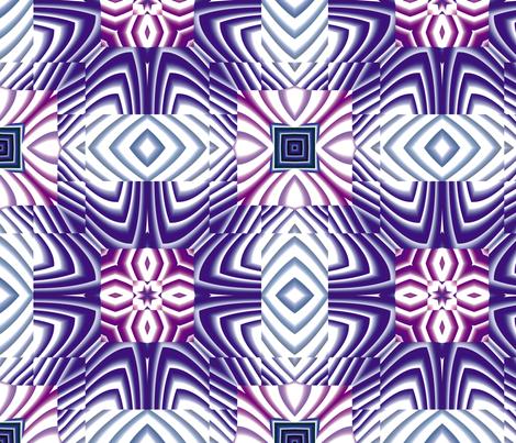 Flowery Incan Tiles 29 fabric by animotaxis on Spoonflower - custom fabric