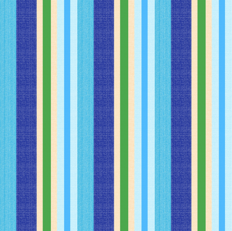 blue world stripes 8 fabric by mojiarts on Spoonflower - custom fabric