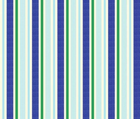 blue world stripes 9 fabric by mojiarts on Spoonflower - custom fabric