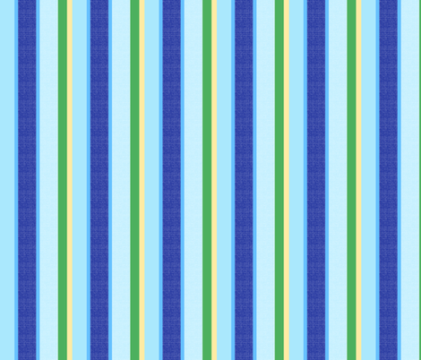 blue world stripes 10 fabric by mojiarts on Spoonflower - custom fabric