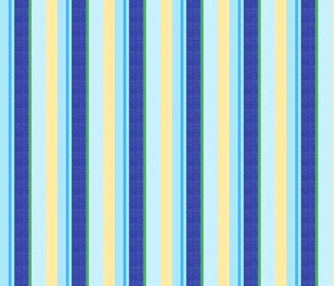 blue world stripes 11 fabric by mojiarts on Spoonflower - custom fabric