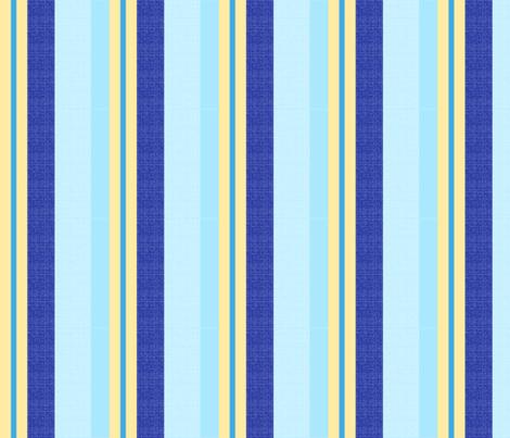 blue world stripes 14 fabric by mojiarts on Spoonflower - custom fabric