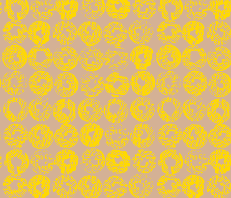 Backlit _Ochre fabric by garimadhawan on Spoonflower - custom fabric