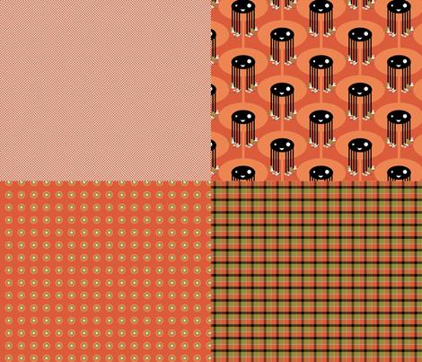 Dandy Sampler fabric by thecalvarium on Spoonflower - custom fabric