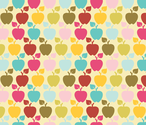 apples_butter fabric by natasha_k_ on Spoonflower - custom fabric