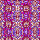 Flower Power Hour (a red and purple vertical stripe)