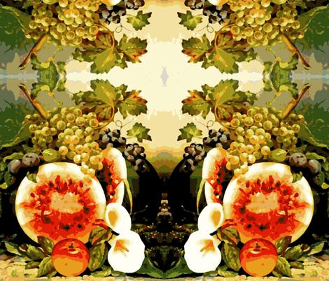 Abundance fabric by flyingfish on Spoonflower - custom fabric