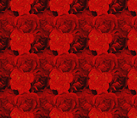 roses are red-3x fabric by glimmericks on Spoonflower - custom fabric