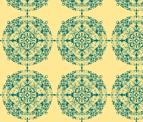 Lace Medallion fabric by dana_zurzolo on Spoonflower - custom fabric