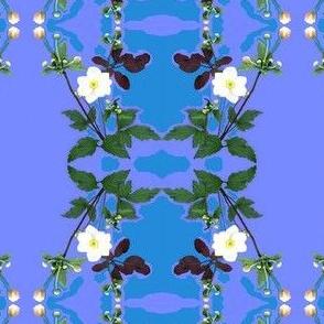 Edinburgh Flower Stripe