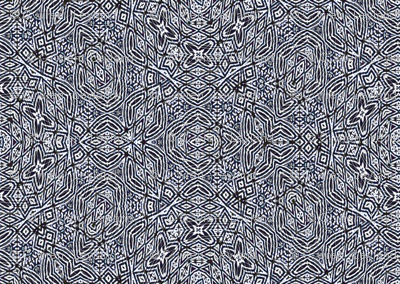 Navy blue tiki lace