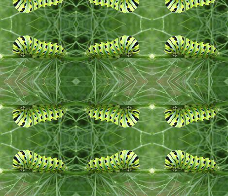 Flashy-Pillar fabric by lizabeastie on Spoonflower - custom fabric