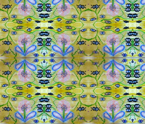 frilly forest fabric by puppyprincess1 on Spoonflower - custom fabric