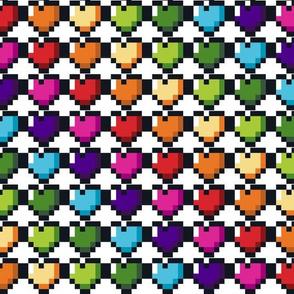 Life Heart Rainbow