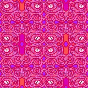 Dot Crowd: Symmetrical with Scrolls