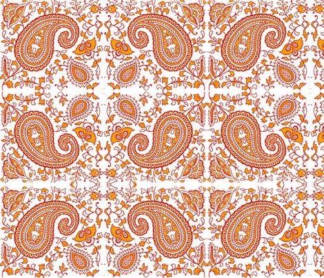 Paisley Dream fabric by flyingfish on Spoonflower - custom fabric