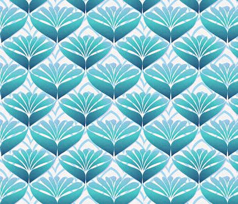 Whale Tale Splash 1.5X fabric by glimmericks on Spoonflower - custom fabric