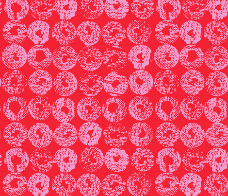 Backlit Dots_Strawberry fabric by garimadhawan on Spoonflower - custom fabric