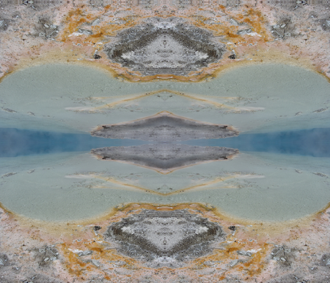 Yellowstone Springs fabric by rachellerose on Spoonflower - custom fabric