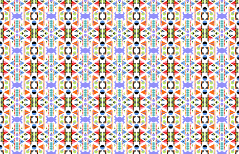 Memphis Shire (Aztec) fabric by moirarae on Spoonflower - custom fabric