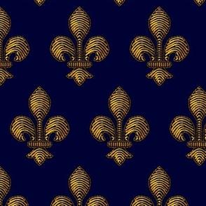 Marie de Medici's Fleur de Lis