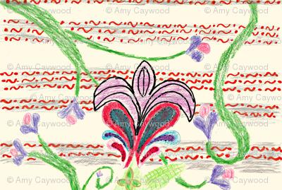 fleur de paisley