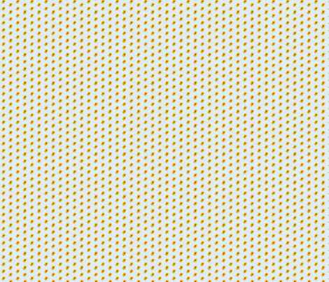 nasturtium-tiny fabric by koalalady on Spoonflower - custom fabric