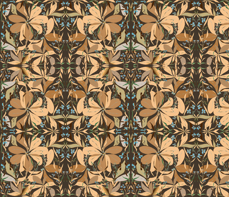 season_designer lydia falletti fabric by artsylady on Spoonflower - custom fabric