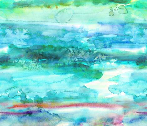 Watercolour - 14 fabric by heytangerine on Spoonflower - custom fabric