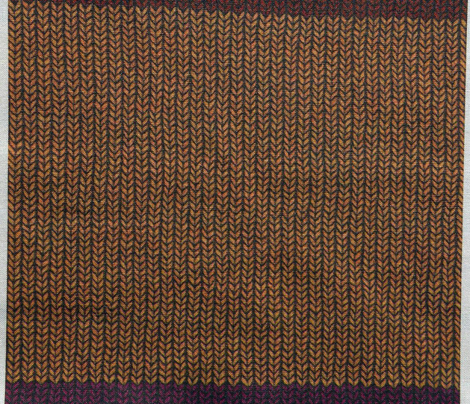 Doctor, who knit this almost four yards long scarf? - Long version