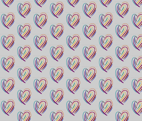 it's only love fabric by daisyteacher on Spoonflower - custom fabric