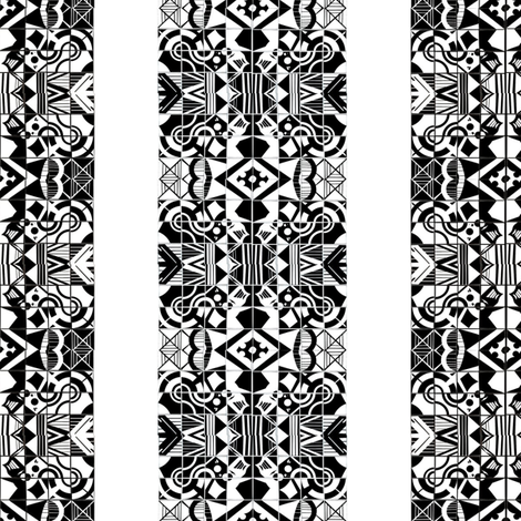 Abstract Architecture Shapes fabric by urbanfabric on Spoonflower - custom fabric