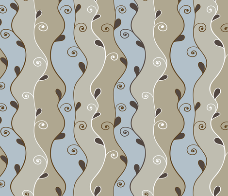 Earth_Tone_Creation fabric by venia on Spoonflower - custom fabric