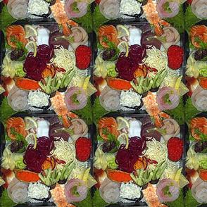 Chirashi Sushi Plate