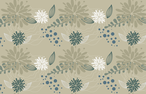 Earthly fabric by venia on Spoonflower - custom fabric