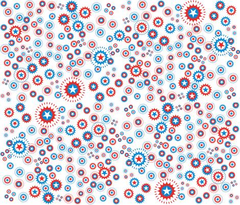 FourthOfJuly fabric by scifiwritir on Spoonflower - custom fabric