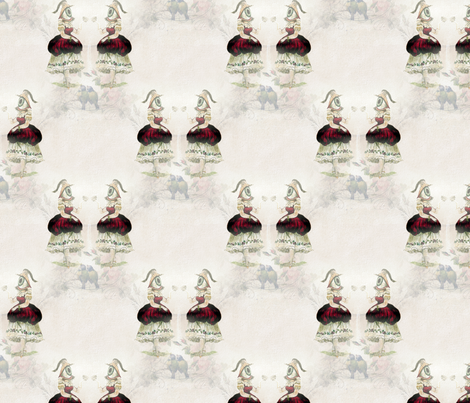 The Female Eye fabric by mandamacabre on Spoonflower - custom fabric