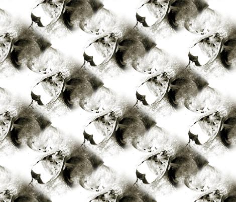 Skulls fabric by mandamacabre on Spoonflower - custom fabric