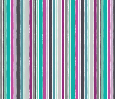 Dreams - Dream Stripe fabric by rosiesimons on Spoonflower - custom fabric