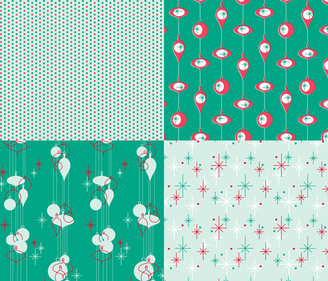 Nifty Sampler fabric by thecalvarium on Spoonflower - custom fabric