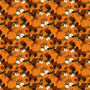Babies In The Pumpkin Patch Fabric 3