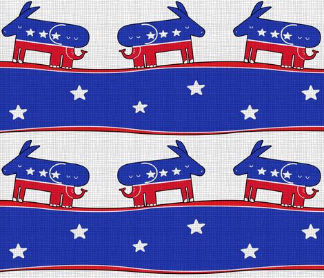 Donkelephant fabric by padeshahoo on Spoonflower - custom fabric