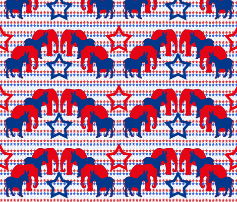 Politics and Decisions fabric by dogdaze_ on Spoonflower - custom fabric